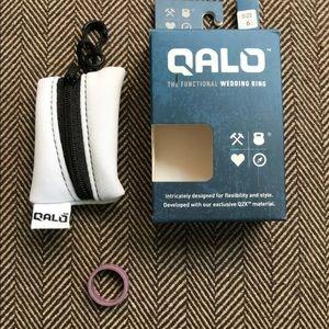 Qalo Jewelry - QALO women's silicone wedding band, size 6, lilac